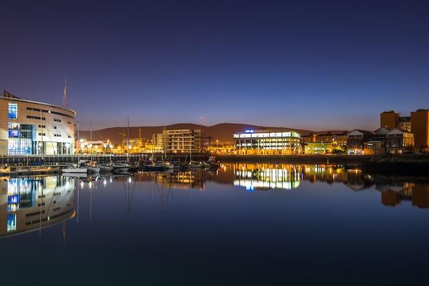 De stad belfast, noord-ierland, verenigd koninkrijk