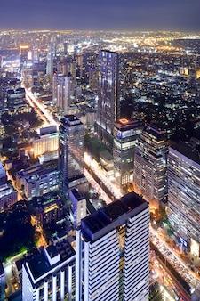 De stad van bangkok thailand scape