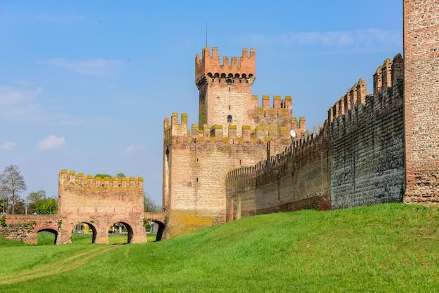 De stadsmuren van montagnana