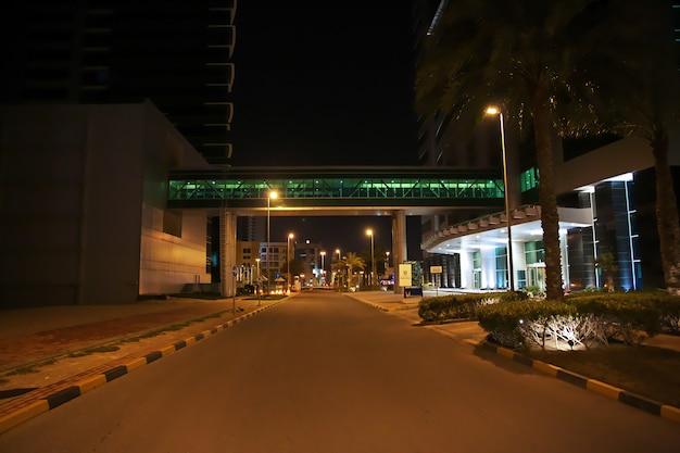 De straat in manama, bahrein