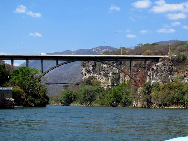 De sumidero-kloof in mexico