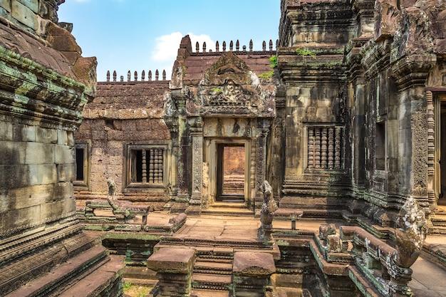 De tempel van banteay samre in het complexe angkor wat, siem oogst