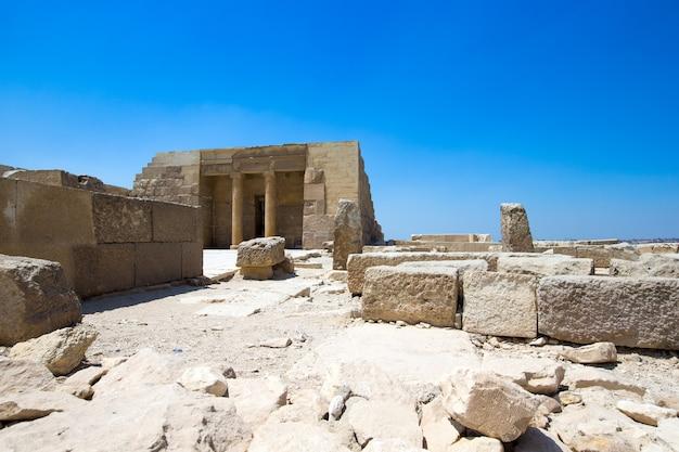 De tempel van hatshepsut dichtbij luxor in egypte