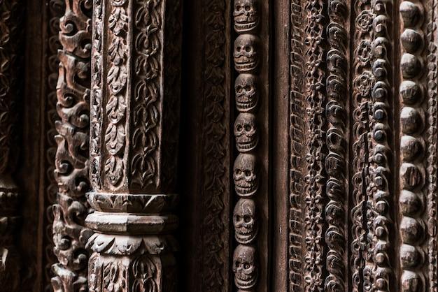 De tempel van katmandu