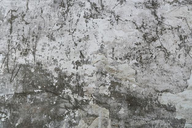 De textuur van de oude betonnen muur met krassen, scheuren, stof, spleten, ruwheid, stucwerk. kan worden gebruikt als een poster of achtergrond voor het ontwerp. ruimte voor tekstbericht kopiëren.