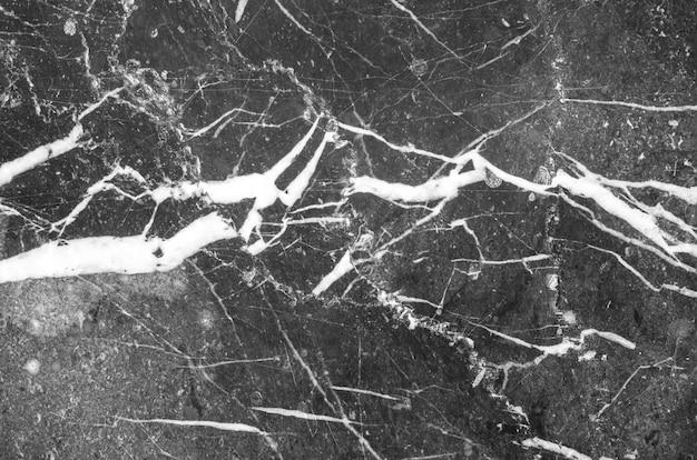De textuurachtergrond van de close-upoppervlakte zwarte marmeren muur