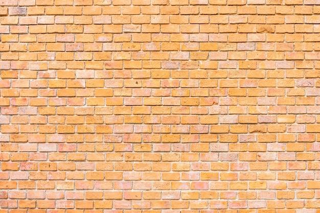 De textuurachtergrond van de samenvatting en van de oppervlakte oude bruine bakstenen muur