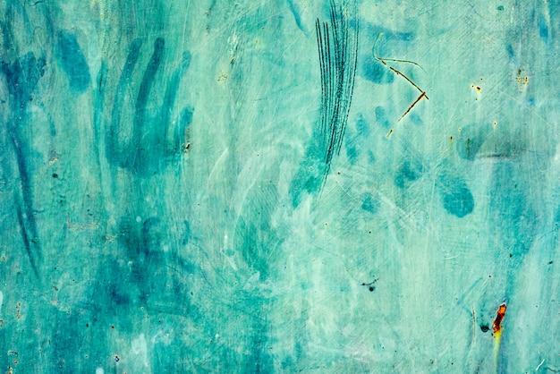 De textuurachtergrond van het grunge groene ijzer
