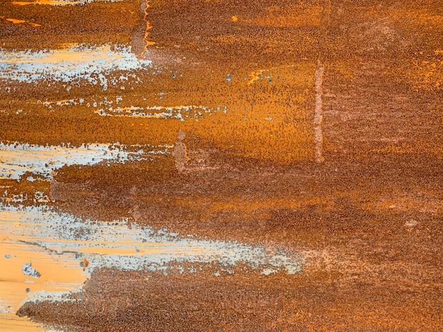 De textuurachtergrond van het kras rustieke metaal