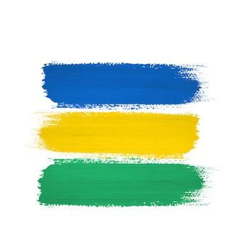 De toonachtergrond van brazilië, ontwerp