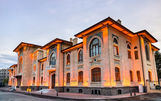 De universiteit voor sociale wetenschappen in ankara, de hoofdstad van turkije