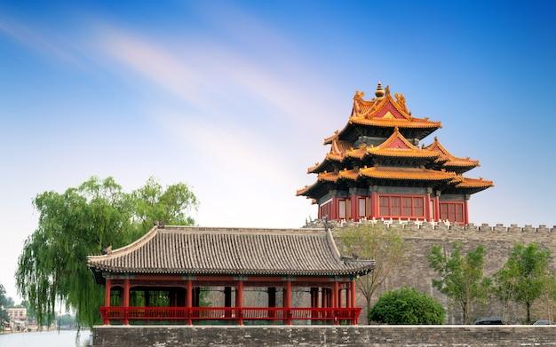 De verboden stad in beijing, china
