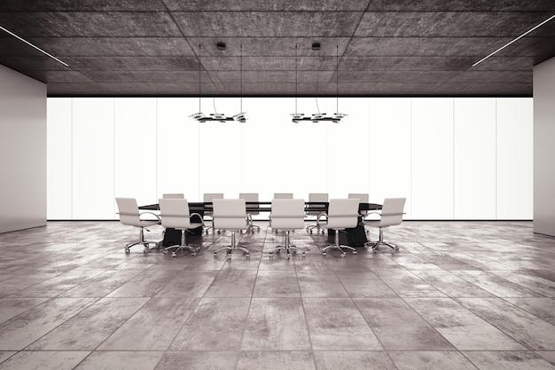 De vergaderruimte in een luxe gebouw