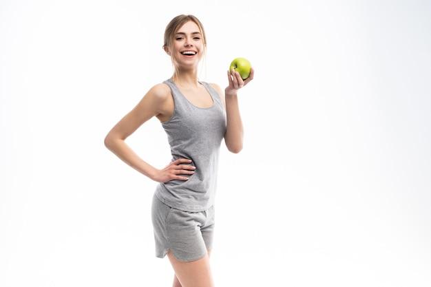 De vrouwelijke appel van de geschiktheidsmodelholding