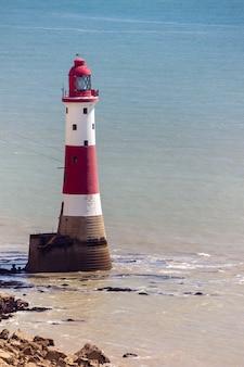 De vuurtoren bij beachy head in sussex op 11 mei 2011