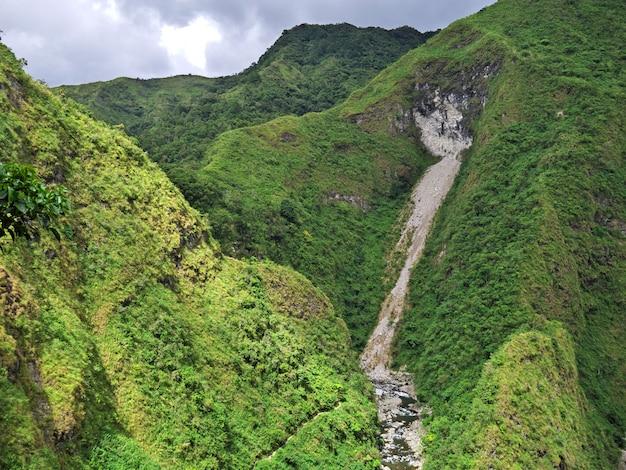De waterval in banaue, filippijnen