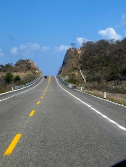 De weg in het land van mexico
