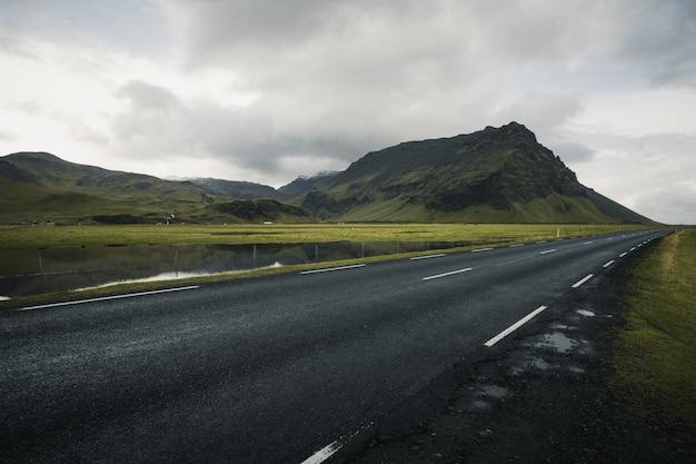 De weg van ijsland