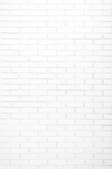 De witte achtergrond van de bakstenen muurtextuur