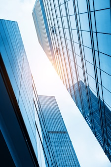 De wolkenkrabbers van het financiële centrum, shanghai, china