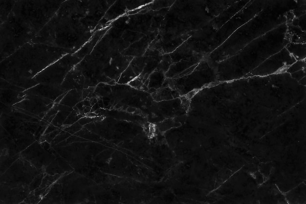 De zwarte marmeren textuurachtergrond van de vloer van de natuurlijke tegelssteen in naadloze luxe schittert