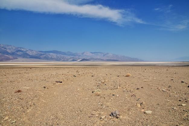 Death valley in californië, verenigde staten