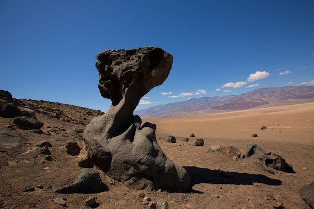 Death valley national park californië steenformaties