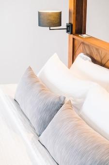Decor witte slaapkamer moderne levensstijl