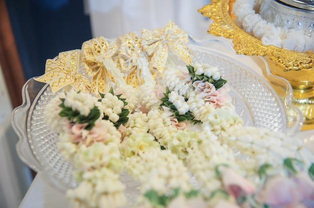 Decoratie bruiloft thaise traditionele stijl