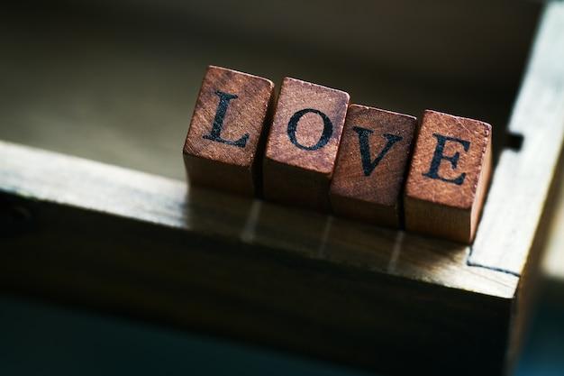 Decoratie idee woord bericht relatie