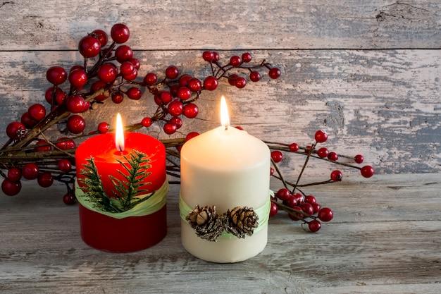 Decoratie met kaarsen