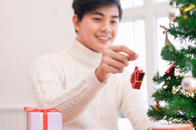 Decoratie voor kerstmis en nieuwjaar.