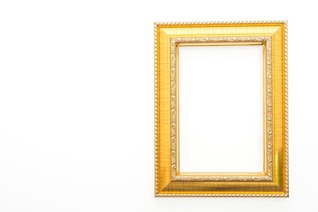 Decoratief frame met witte achtergrond