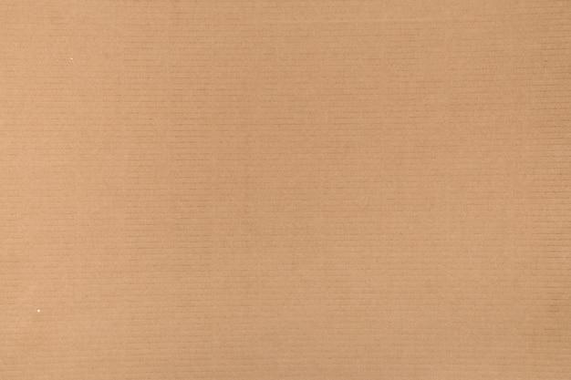 Decoratieve achtergrond van bruin karton