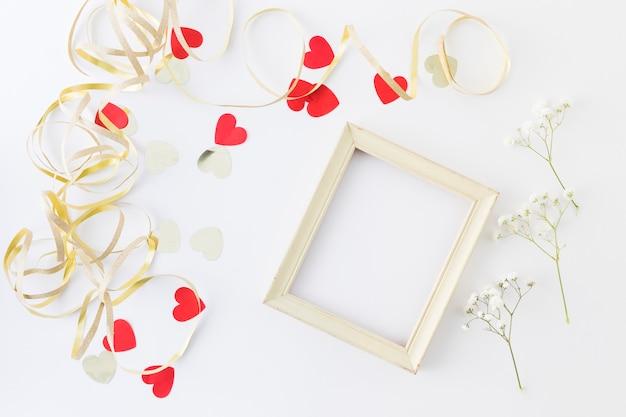 Decoratieve bruiloft elementen