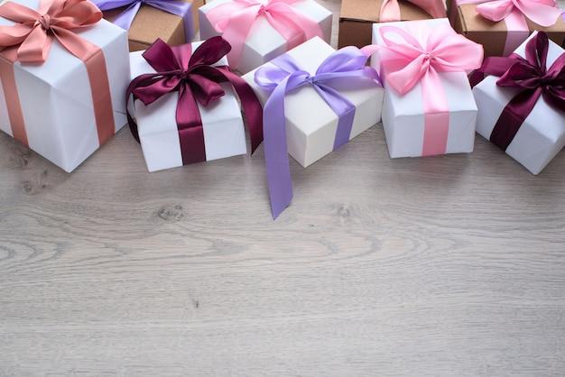 Decoratieve doos voor de vakantie.
