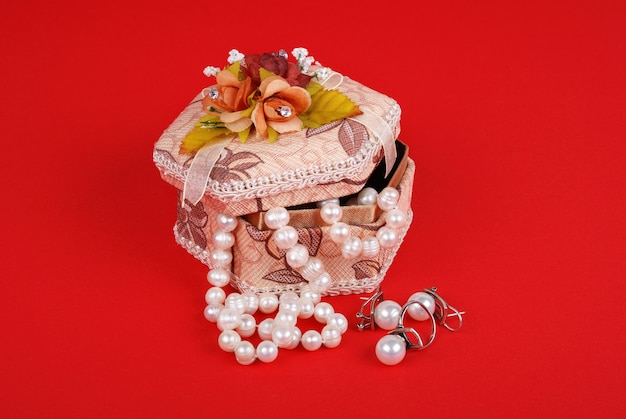 Decoratieve juwelendoos