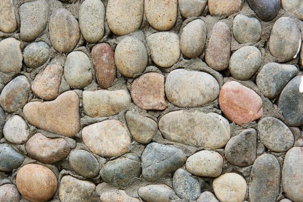 Decoratieve moderne stenen muur van afgebroken steen voor achtergrond