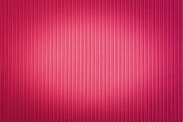 Decoratieve rode kleur, gestreepte textuur, vignettering gradiënt.