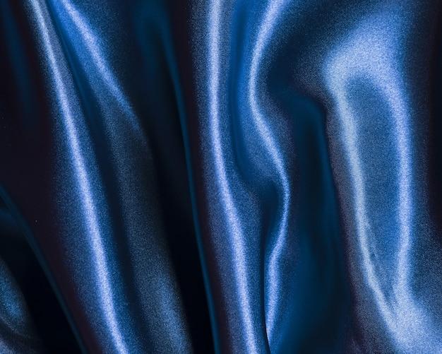 Decoratieve stoffen van blauwe stof binnenshuis