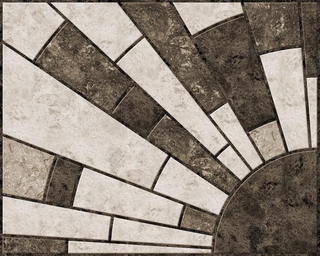 Decoratieve tegels met natuursteentextuur. achtergrond textuur