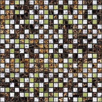 Decoratieve tegels van gekleurd marmer.