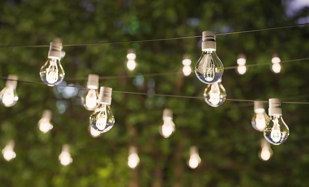 Decoratieve verlichting voor zomerfeest