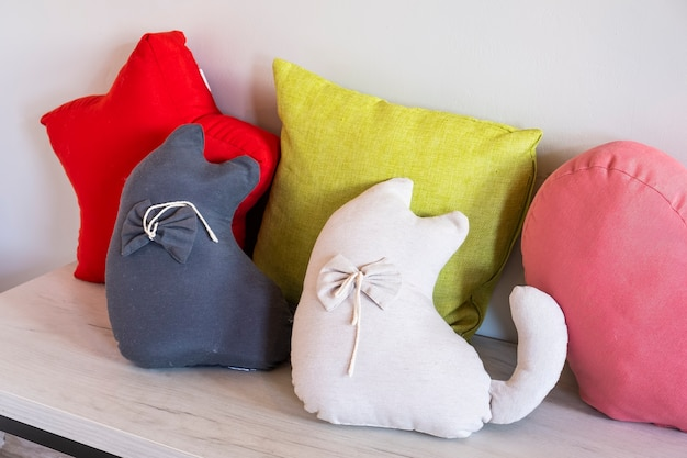 Decoratieve zachte kussens