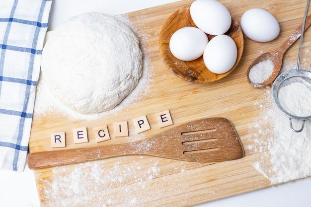 Deeg maken voor brood