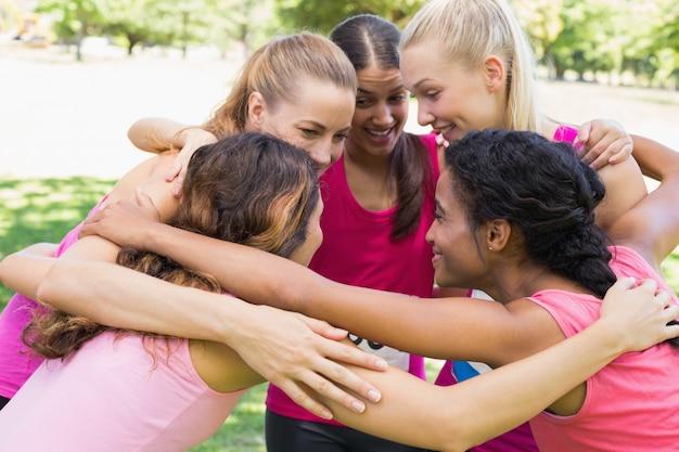 Deelnemers aan de marathons van borstkanker vormen een samenloop van omstandigheden