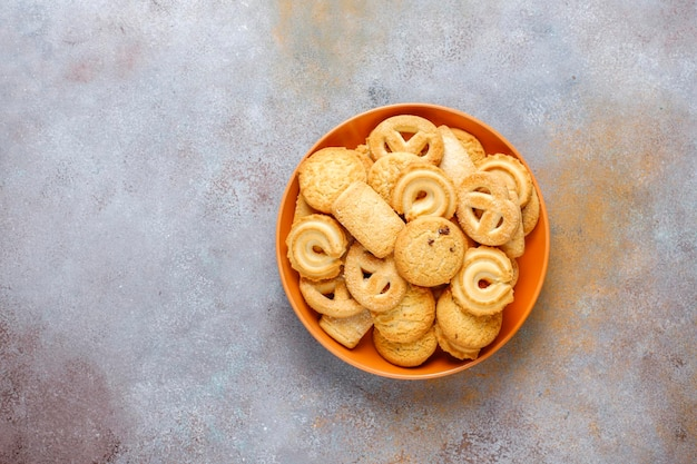 Deense boterkoekjes.
