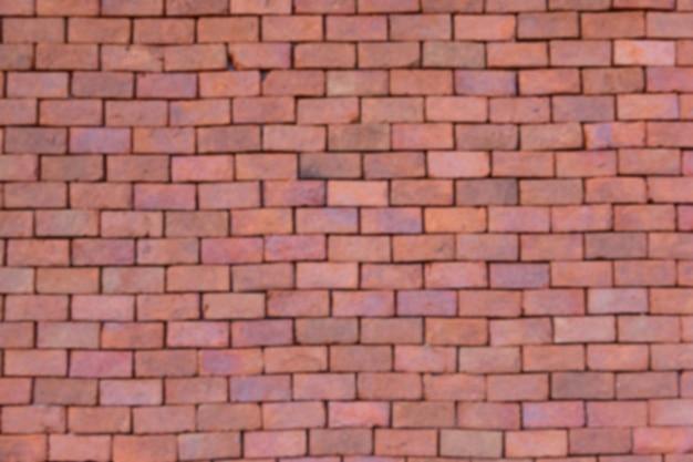 Defocus oude bakstenen muur