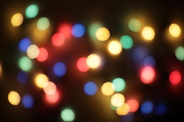 Defocused abstracte kerstmis achtergrond