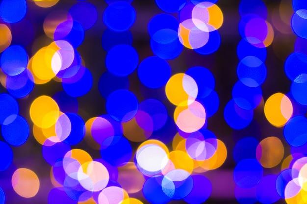 Defocused ligths van kerstboomachtergrond